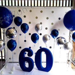 Фотозона на день рождения с шарами