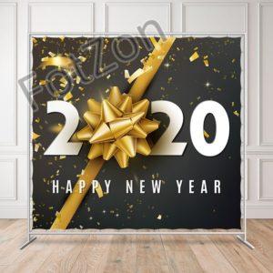 Новогодний баннер с надписью 2020