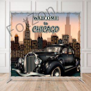 Баннер в стиле Чикаго