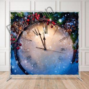 Баннер Новогодние Часы