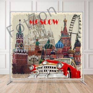 Баннер в стиле Ретро старой Москвы