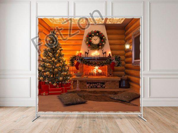 Тематический баннер в стиле Рождественской Ночи