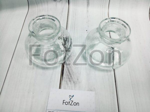 Стеклянный бочонок декоративный в аренду на свадьбу Москва