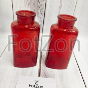 Красная ваза кувшин в аренду на свадьбу Москва